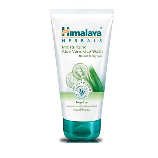Himalaya Hidratáló aloe vera arclemosó gélkrém 150ml