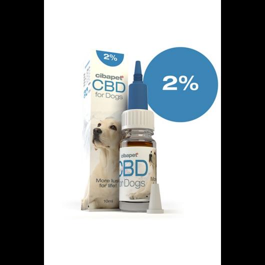 Cibapet 2% CBD olaj kutyáknak