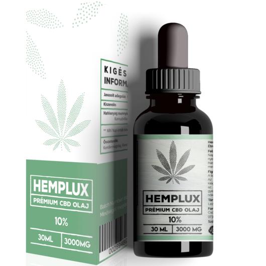 Hemplux 30 ml CBD olaj 10% (3000 mg)