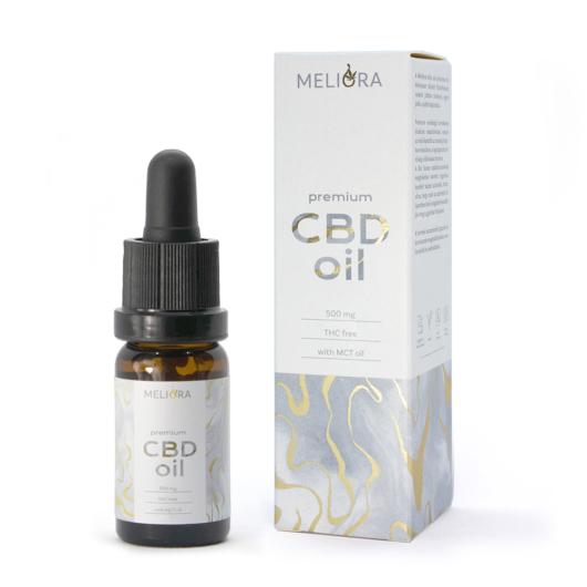 Meliora Széles Spektrumú 5% CBD olaj 500 mg