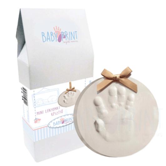 MybbPrint MINI, baba lenyomat készítő készlet - lábszobor, kézszobor, lenyomat