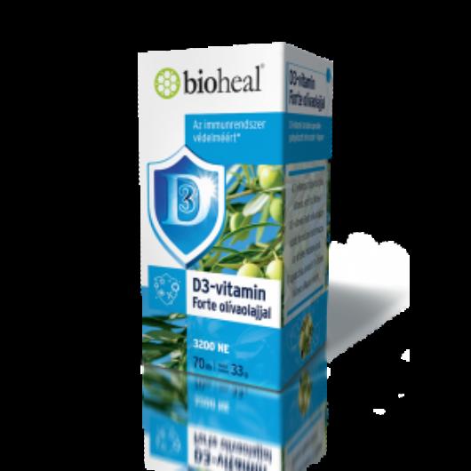 BIOHEAL - D-VITAMIN FORTE 70db