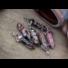 Kép 4/7 - Rodonit kétcsúcsos ásvány medál