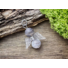 Kép 1/6 - Szenvedély angyal botswana achát ásvány medál