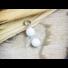 Kép 2/6 - Ártatlanság angyal tejkvarc ásvány medál
