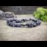 Kép 2/4 - Hősök köve szodalit szemcse ásvány karkötő