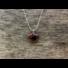 Kép 7/7 - Barna obszidián szív ásvány medál