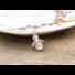 Kép 1/6 - Rózsakvarc angyal medál