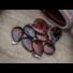 Kép 2/7 - Barna obszidián csepp ásvány medál
