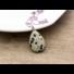 Kép 3/7 - Dalmata jáspis csepp ásvány medál
