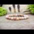 Kép 2/3 - Boldog álmok pink opál ásvány karkötő