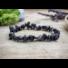 Kép 1/3 - Feloldódás fekete obszidián szemcse ásvány karkötő
