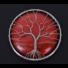Kép 2/2 - Vörös jáspis Életfa Talizmán